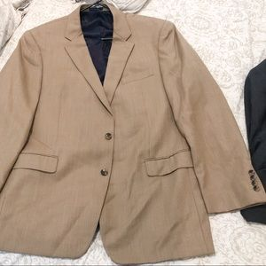 Tan Suit Jacket
